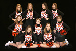 Jr. High Cheerleaders 2009-10 :