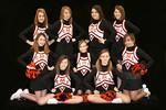 Jr. High Cheerleaders 2009-10 :